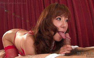Cumshot, MILF, Asian, Stockings Pansuto, Uncensored, Red Head Video