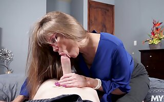 Hottest blowjob compilation present itself by MYLF site