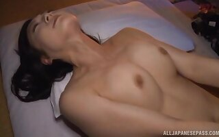 Asian girl Nagasawa Azusa fingered and fucked by their way lover