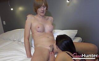 Horny Lesbian Seduced Granny Gentlemen Compilation