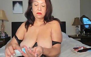Blue Grown-up Inexperienced Breasts Masturbating And Intense Orgasm