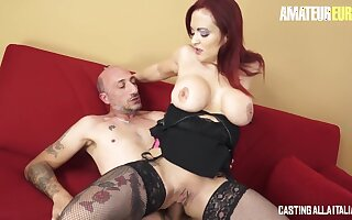 Hard Anal With Redhead Busty Mature