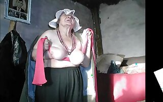 Incredible amateur Mature, Oldie porn clip