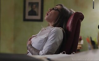 Jade Baker & Karma RX in Lesbian Office Seductions 11 Scene 2 - Caught in the Act - SweetheartVideo