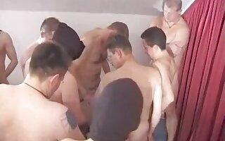 German mature with 12 Men
