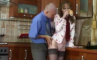 Sexy Russian Mature Fucks Young Person In Nautical galley